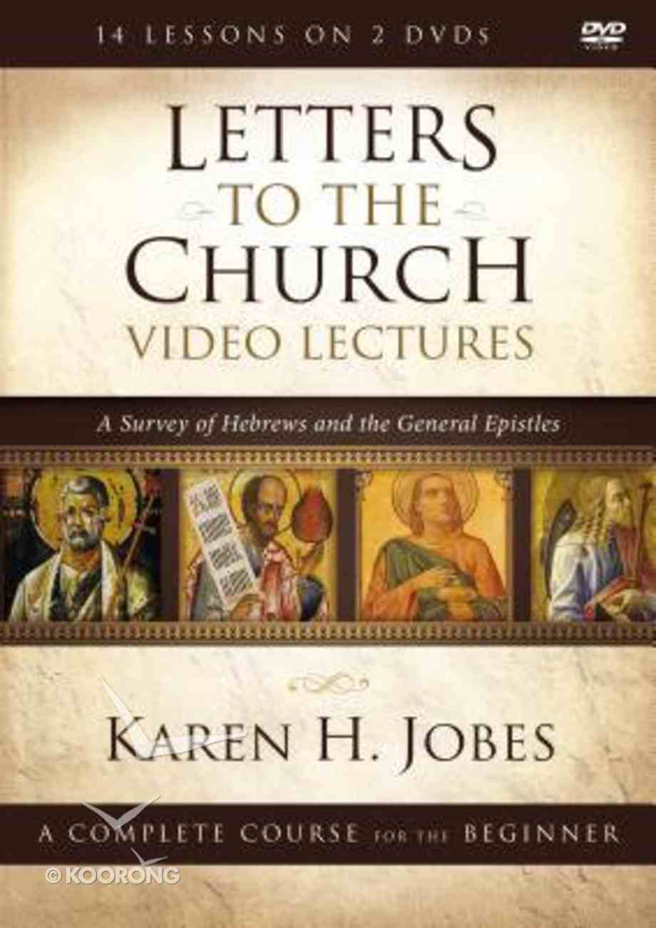 Letters to the Church Video Lectures DVD