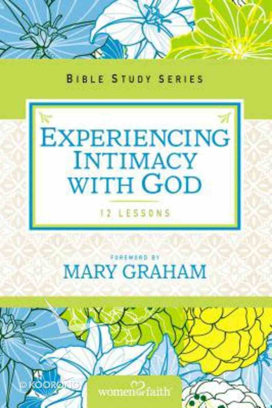 Discovering God's Goodness (Women Of Faith Study Guide Series) Paperback