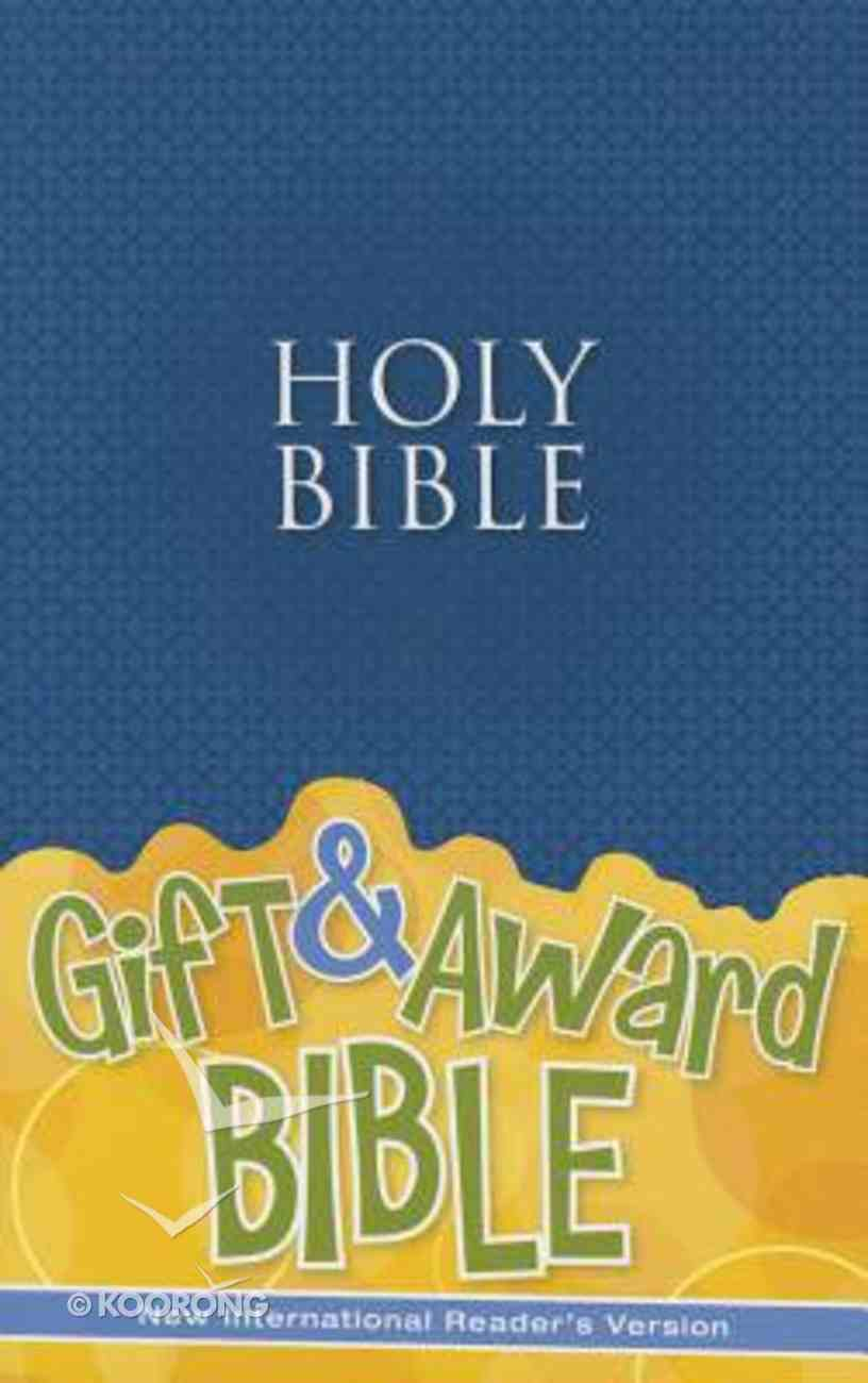 NIRV Gift and Award Bible Blue (Black Letter Edition) Paperback