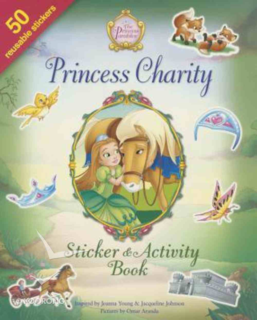 Princess Charity Sticker and Activity Book Paperback