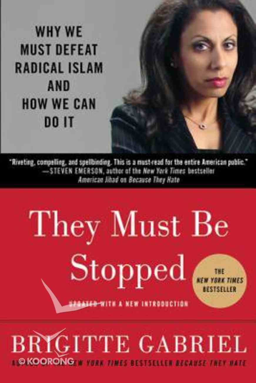 They Must Be Stopped Paperback