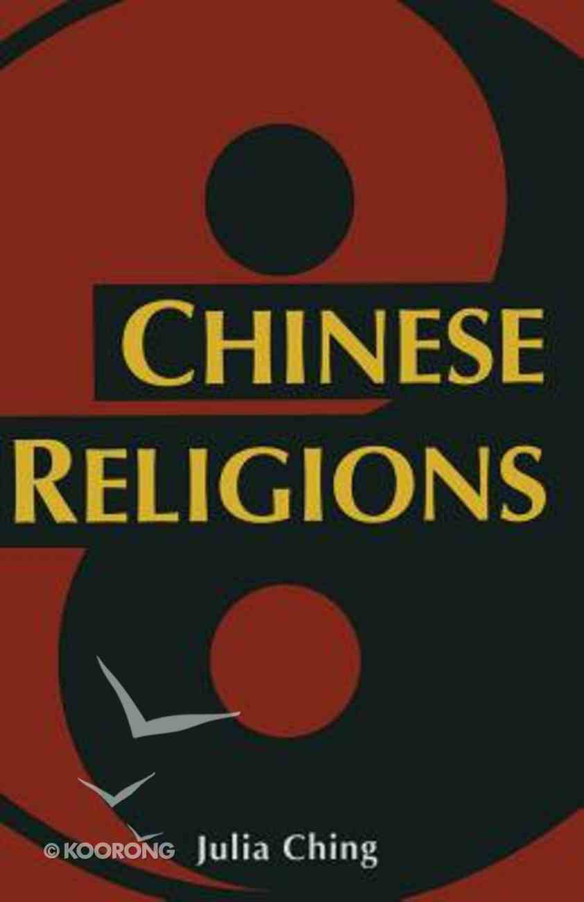 Chinese Religions Paperback