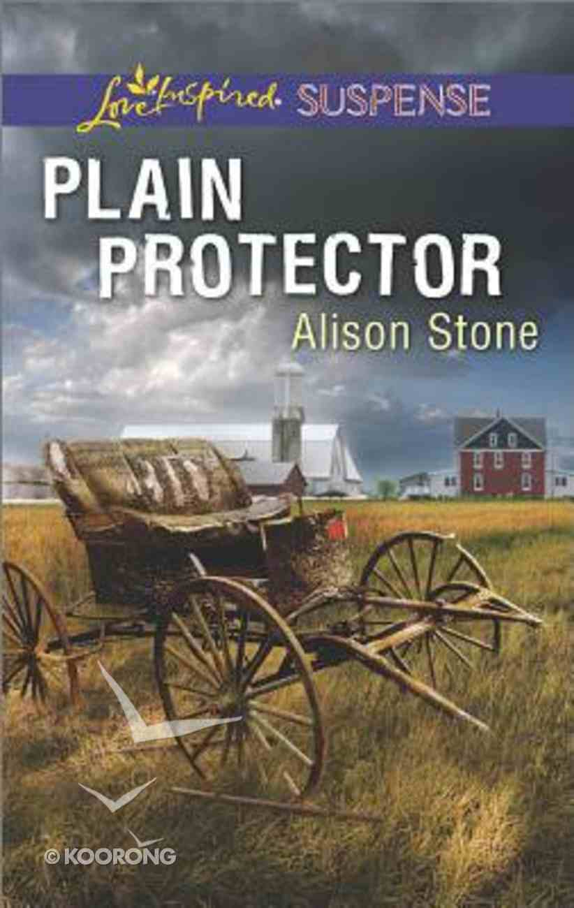 Plain Protector (Love Inspired Suspense Series) Mass Market
