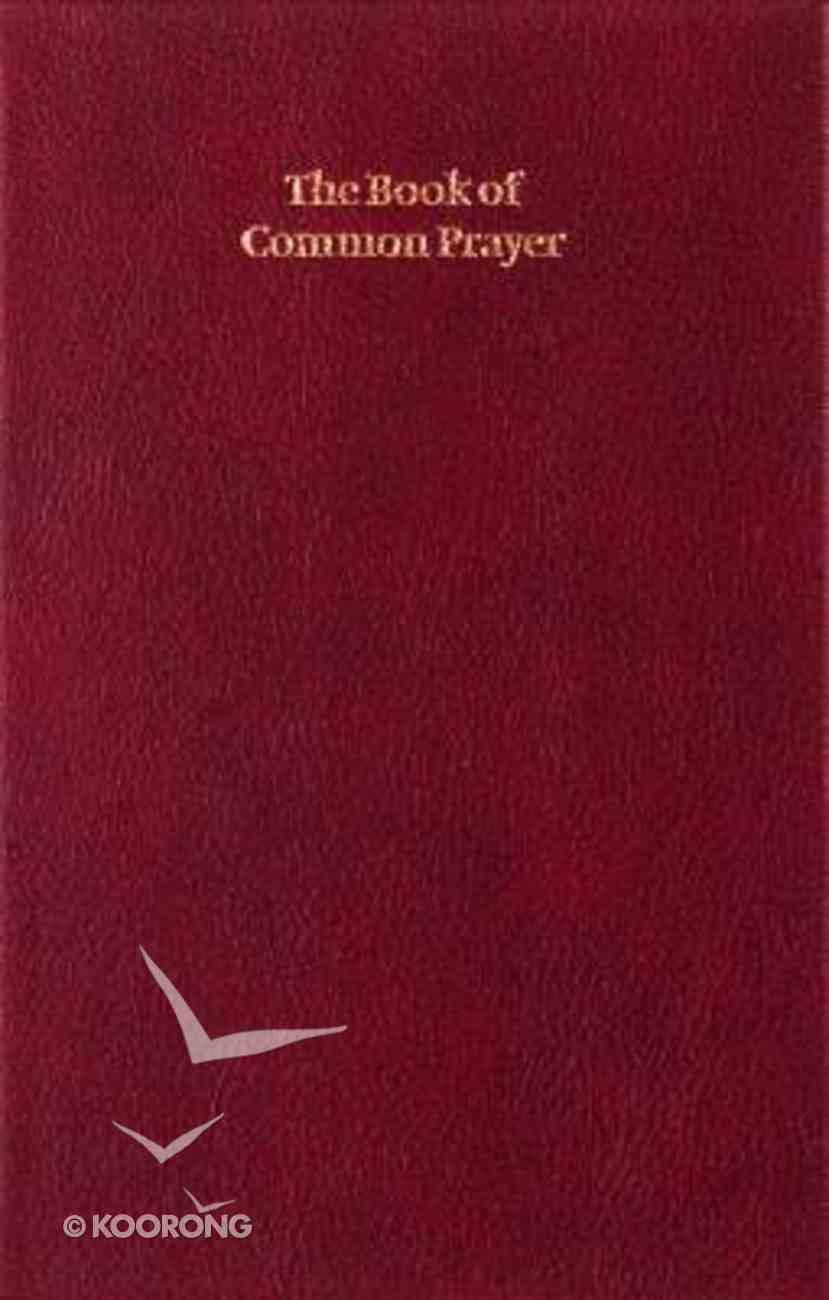 Book of Common Prayer Enlarged Edition Burgundy Hardback