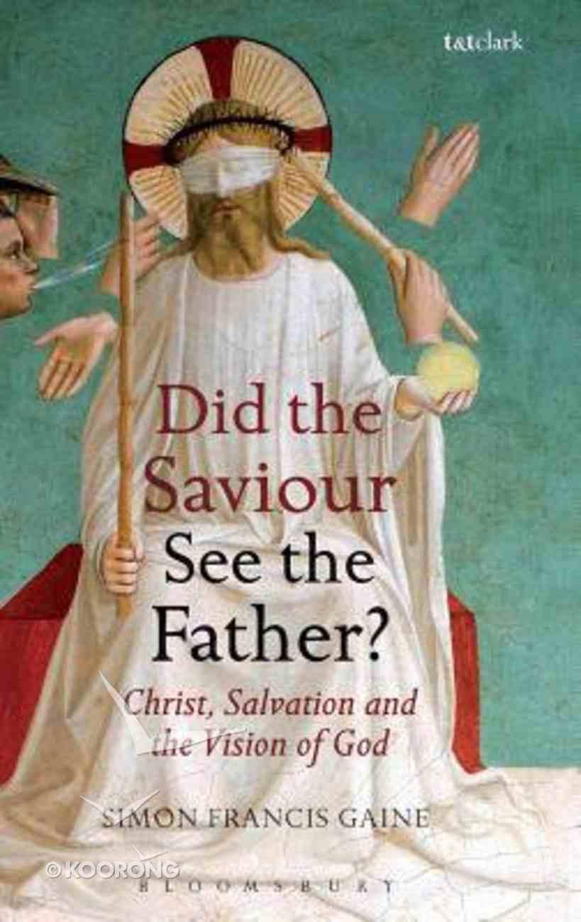 Did the Saviour See the Father? Hardback