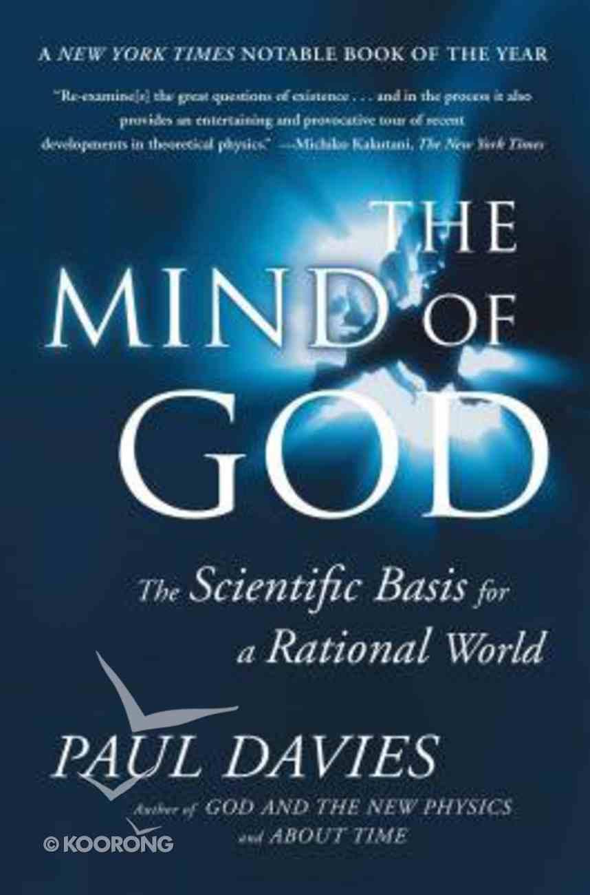 The Mind of God Paperback