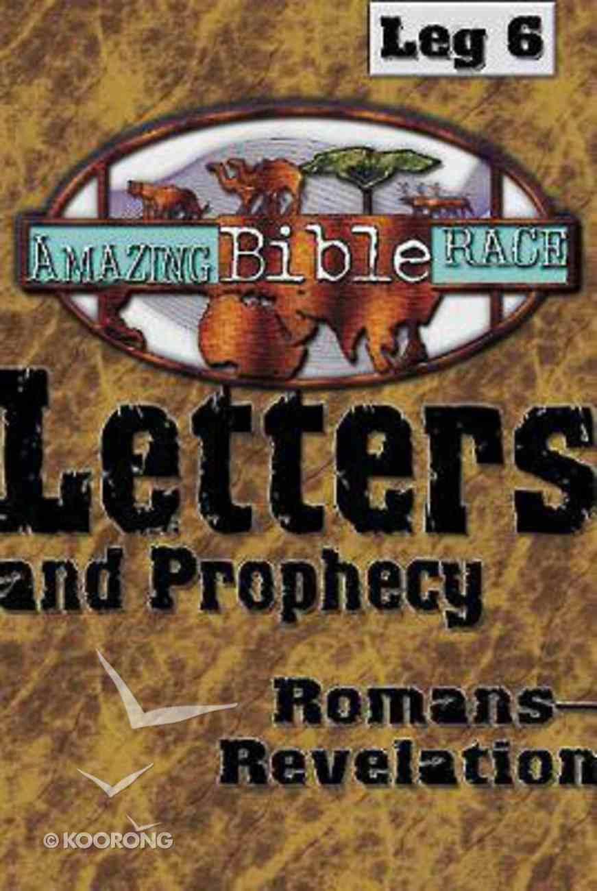 Amazing Bible Race: Leg 6 (Runner's Reader) Paperback