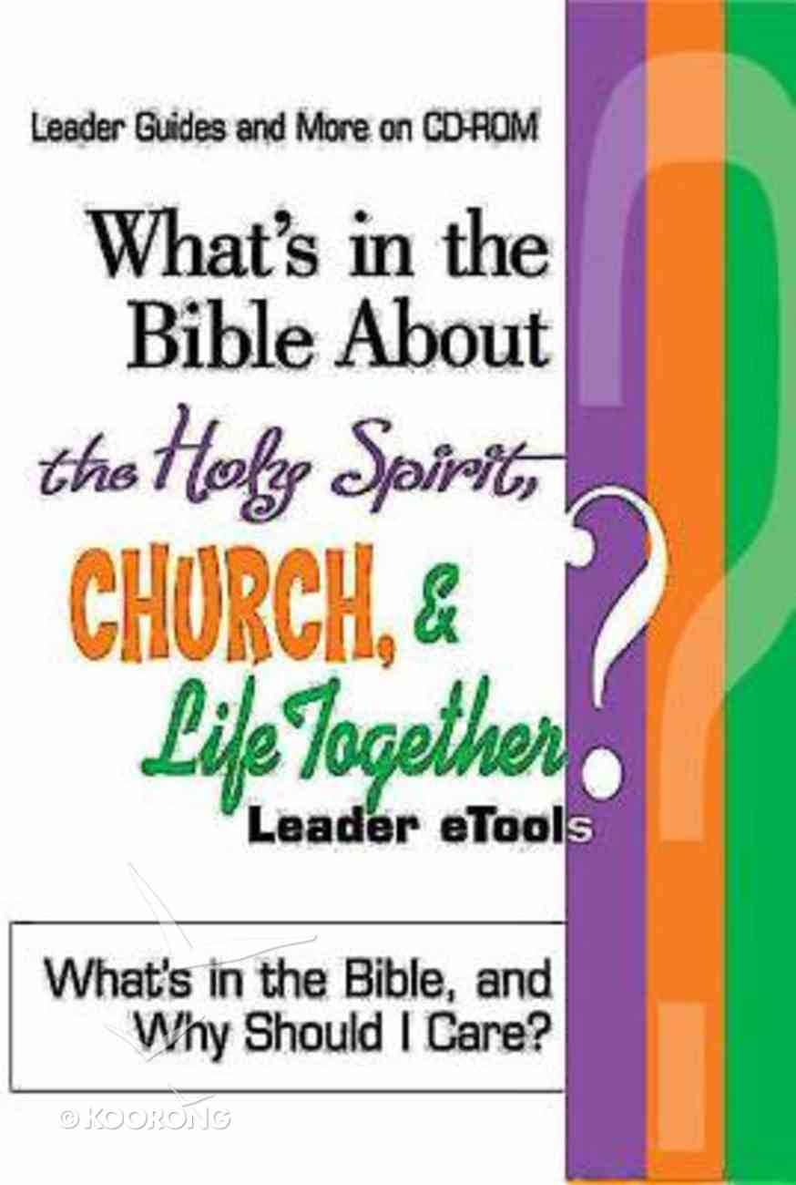 What's in the Bible About the Holy Spirit, Church, and Life Together (Cd-rom) CD-rom