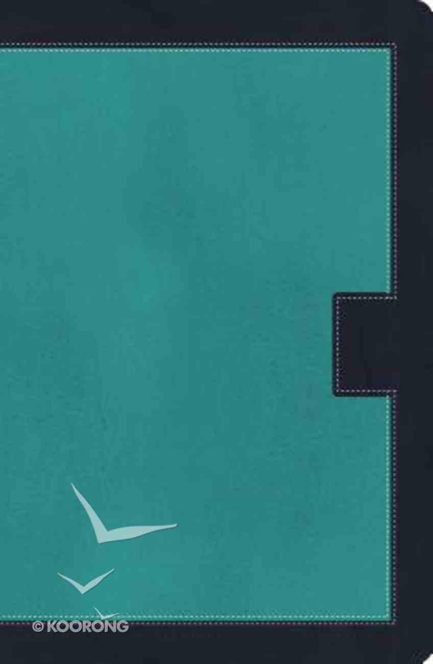 NKJV Study Bible Blue 2nd Edition (Black Letter Edition) Imitation Leather