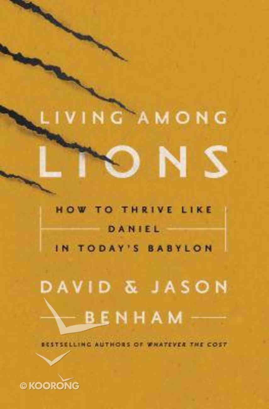 Living Among Lions Paperback
