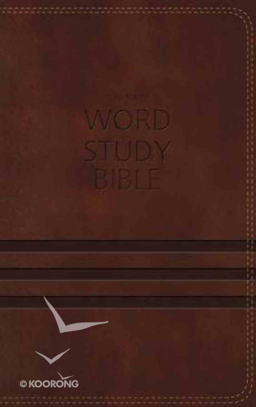 NKJV Word Study Indexed (Red Letter Edition) Imitation Leather