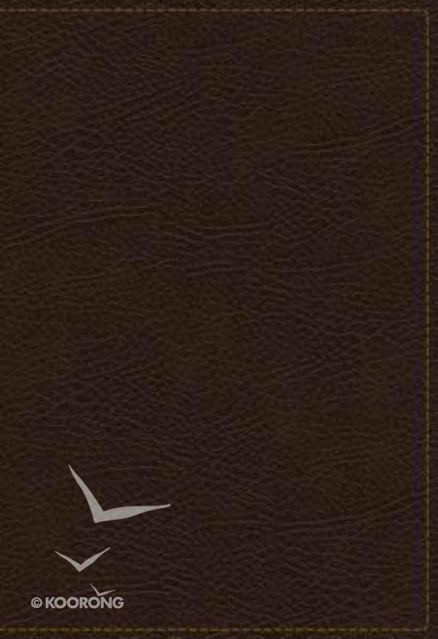 KJV Study Bible Brown Indexed Full-Color Edition (Red Letter Edition) Bonded Leather