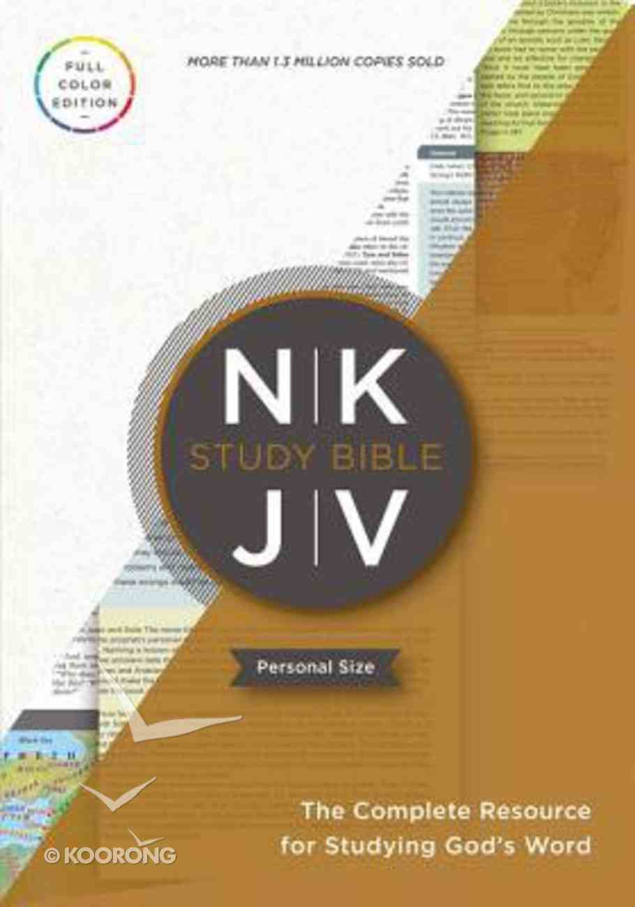 NKJV Study Bible Personal Size Indexed (Red Letter Edition) Paperback