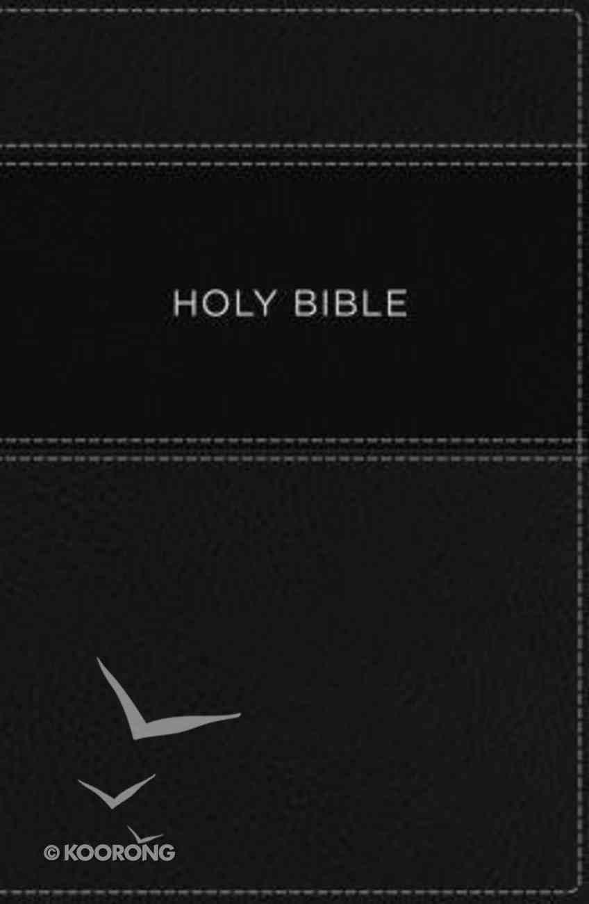 KJV Large Print Apply the Word Study Bible Black Premium Imitation Leather