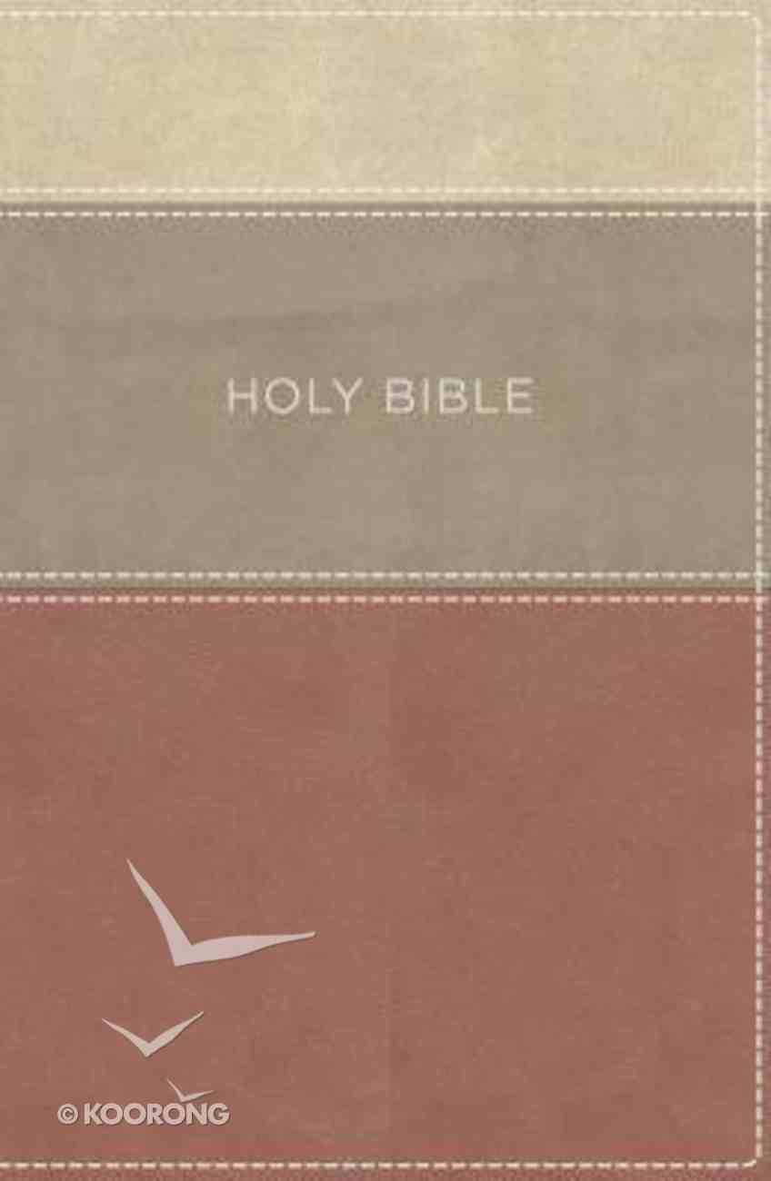 KJV Large Print Apply the Word Study Bible Dusty Rose/Cream Premium Imitation Leather
