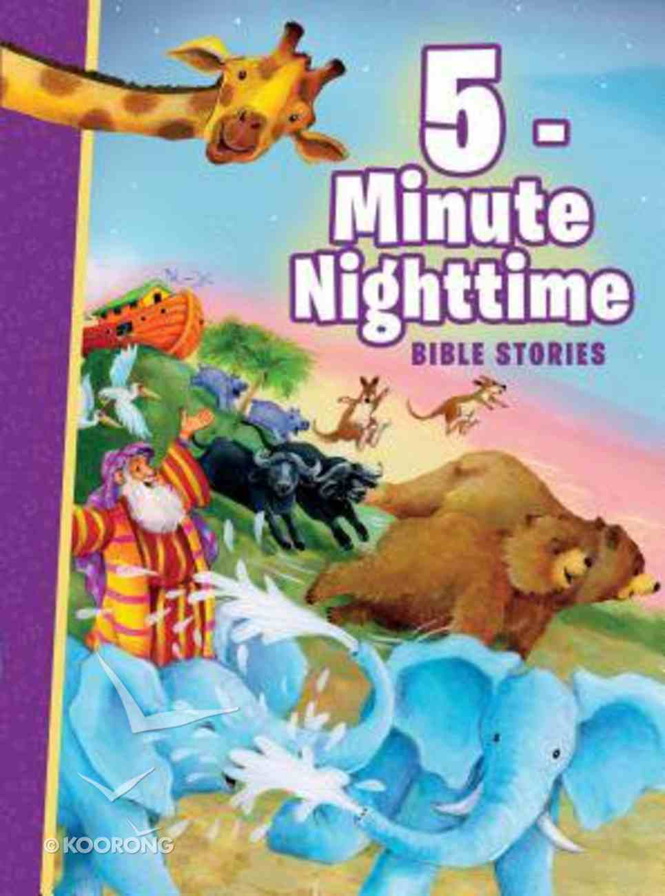 5-Minute Nighttime Bible Stories Hardback