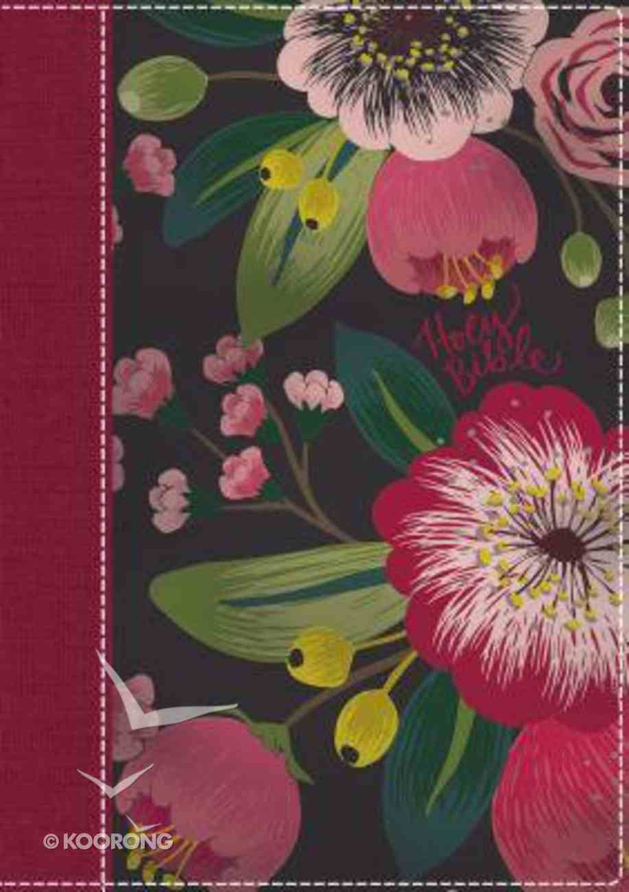 NKJV the Woman's Study Bible Indexed Pink Floral Full-Color Hardback
