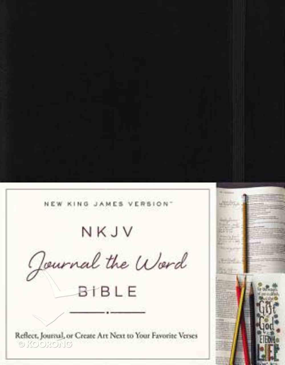 NKJV Journal the Word Bible (Red Letter Edition) Hardback