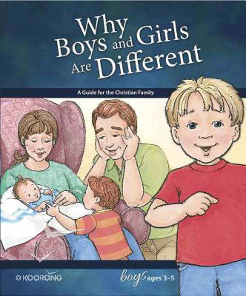 Why Boys and Girls Are Different (Boys 3-5) (Learning About Sex Series) Hardback