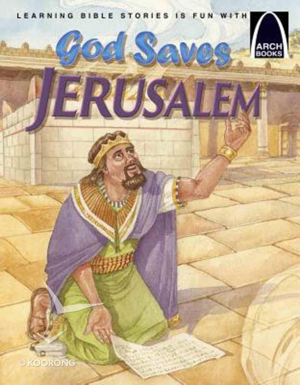 God Saves Jerusalem (Arch Books Series) Paperback