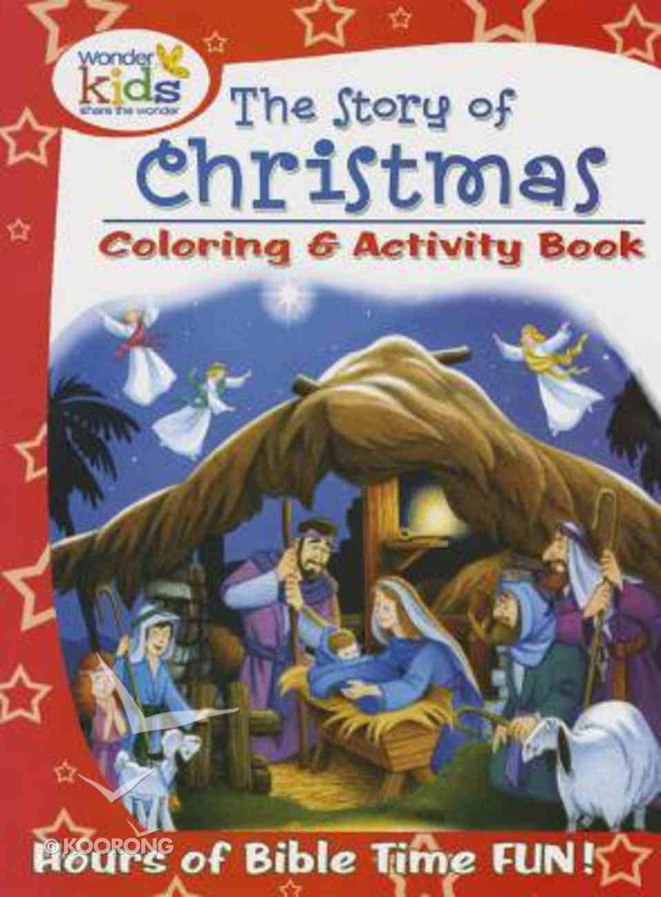 The Story of Christmas Colouring & Activity Book Paperback