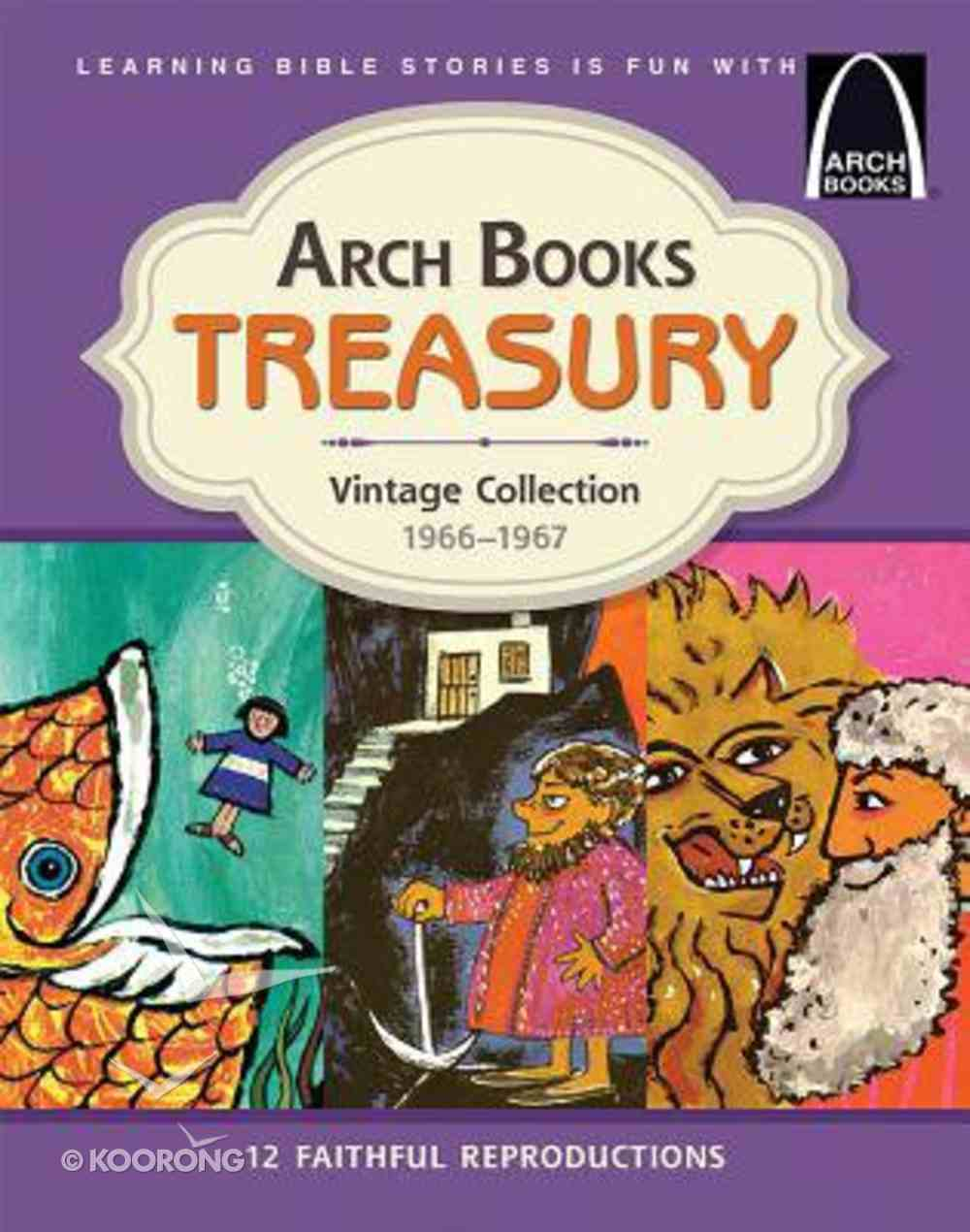 Vintage Collection 1966 - 1967 (12 Classic Arch Books) (Arch Books Series) Hardback