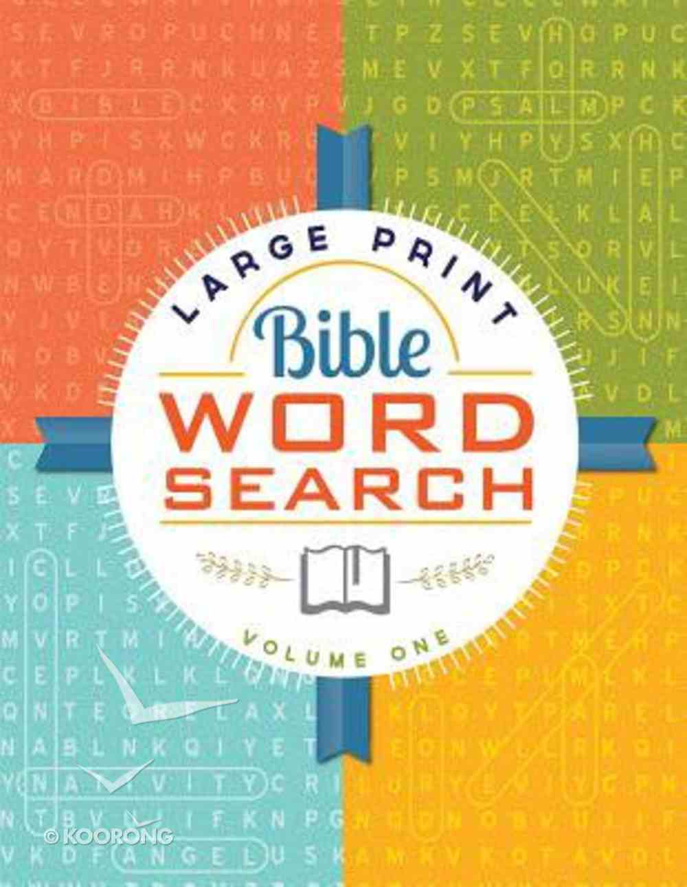 Bible Word Search Volume 1 (Large Print) Paperback