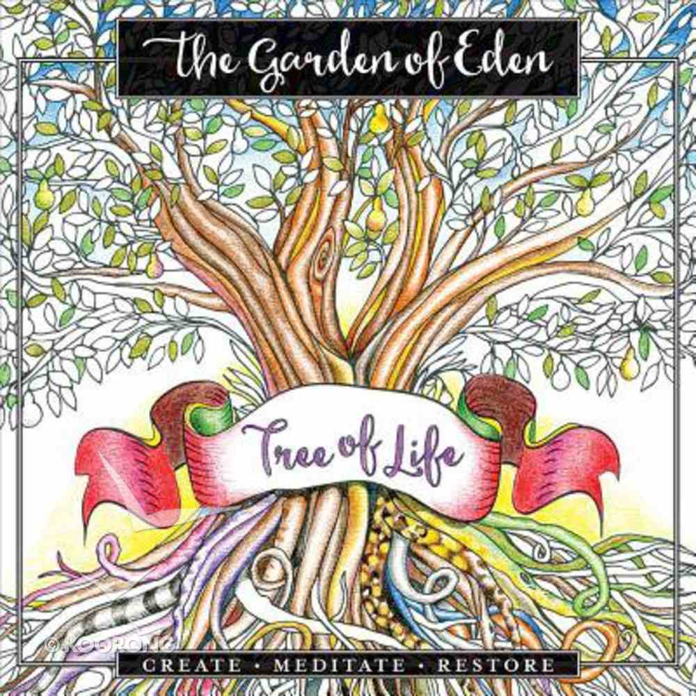 Garden of Eden, The: Create. Meditate. Restore (Adult Coloring Books Series) Paperback