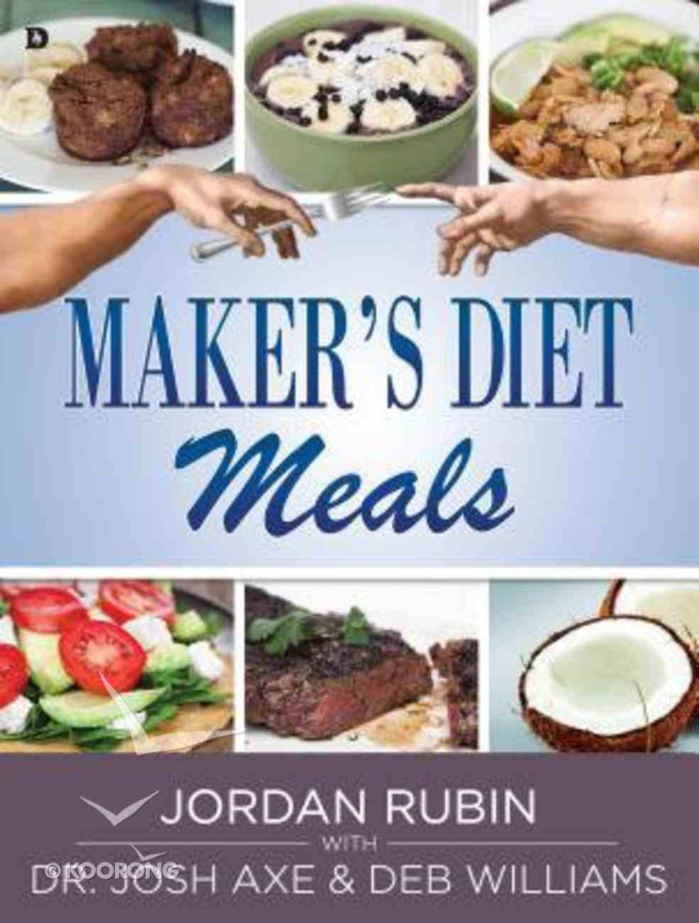 Maker's Diet Meals Paperback