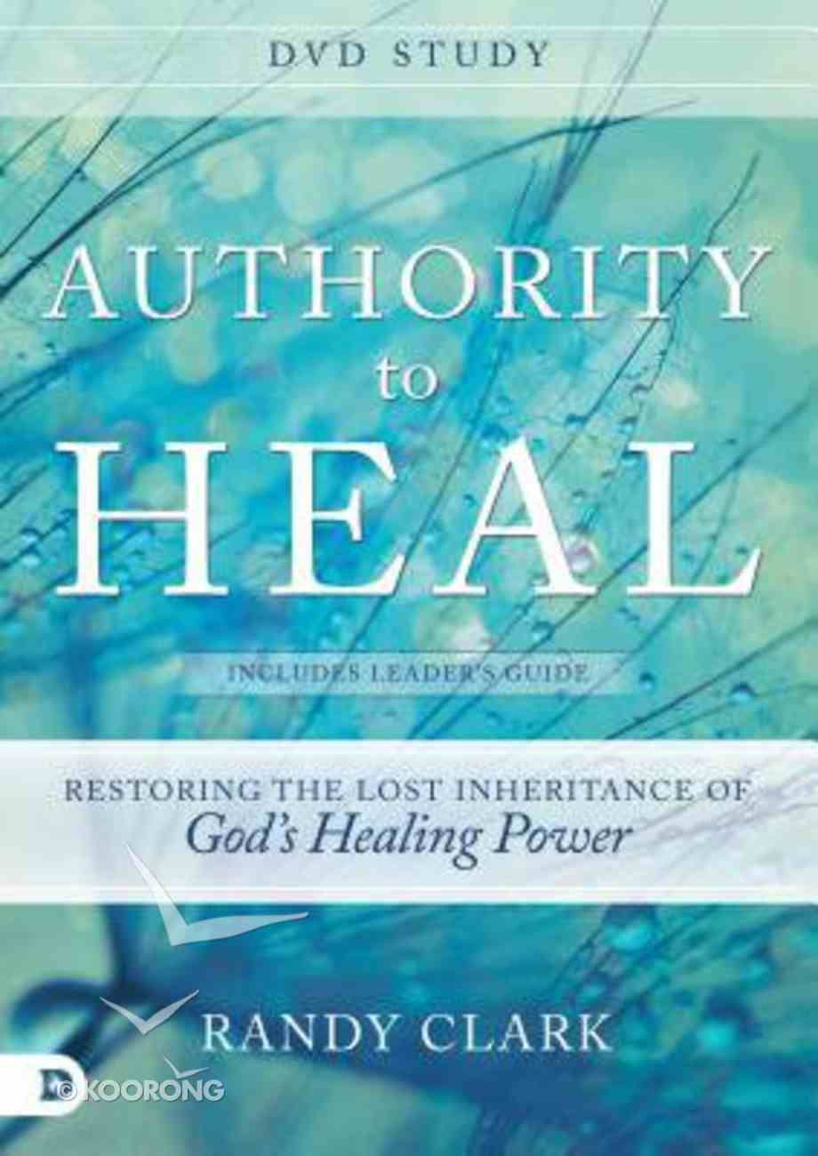 Authority to Heal (Dvd Study) DVD