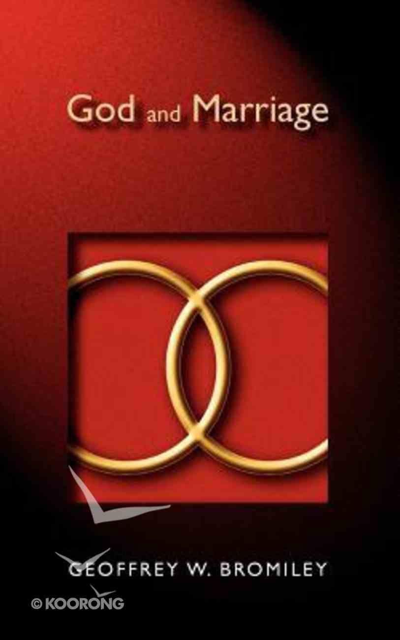 God and Marriage Paperback