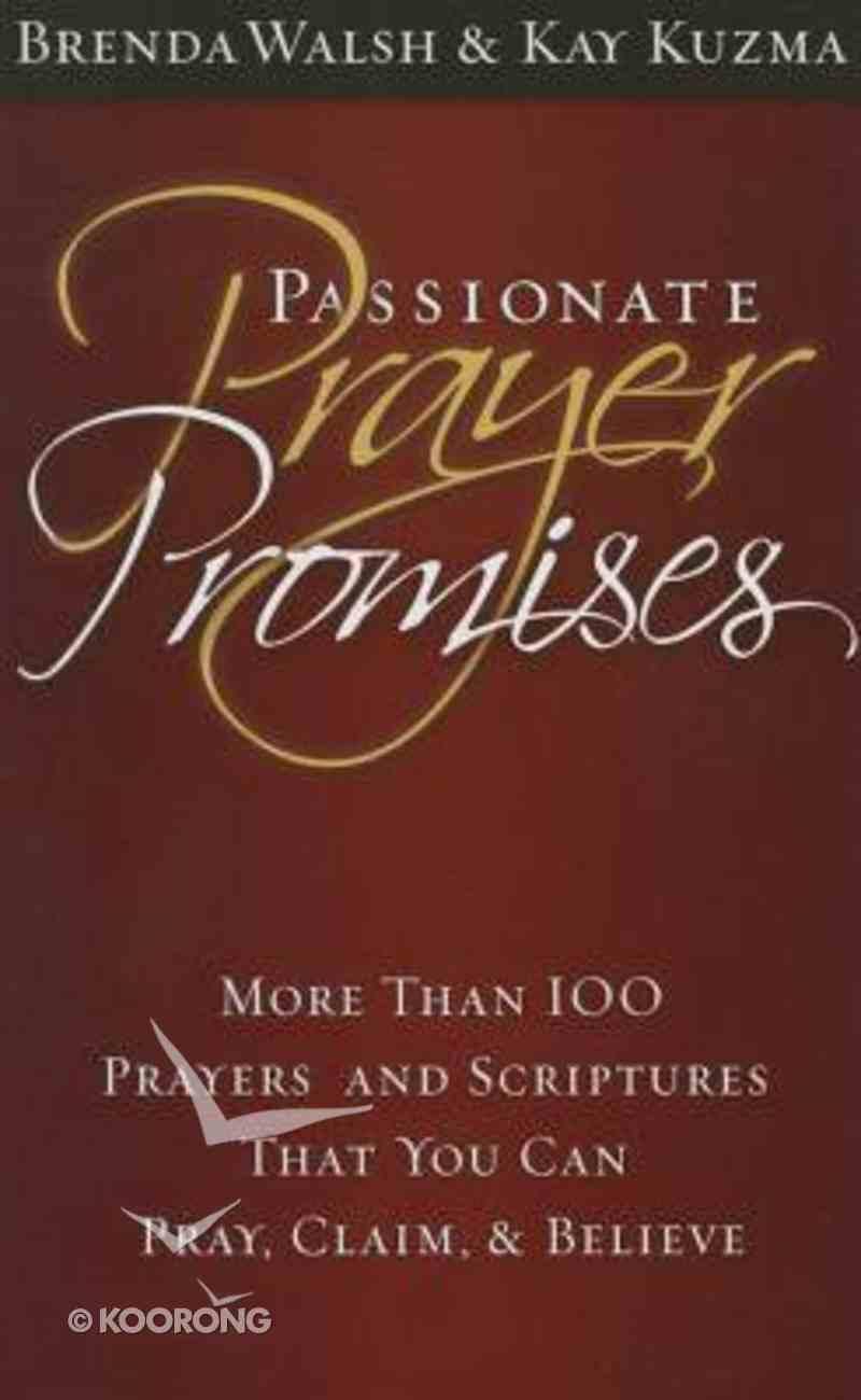 Passionate Prayer Promises Paperback