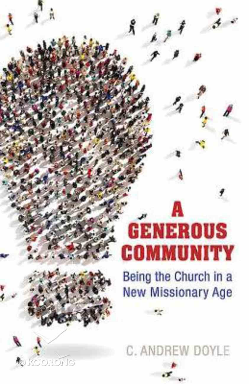A Generous Community Paperback