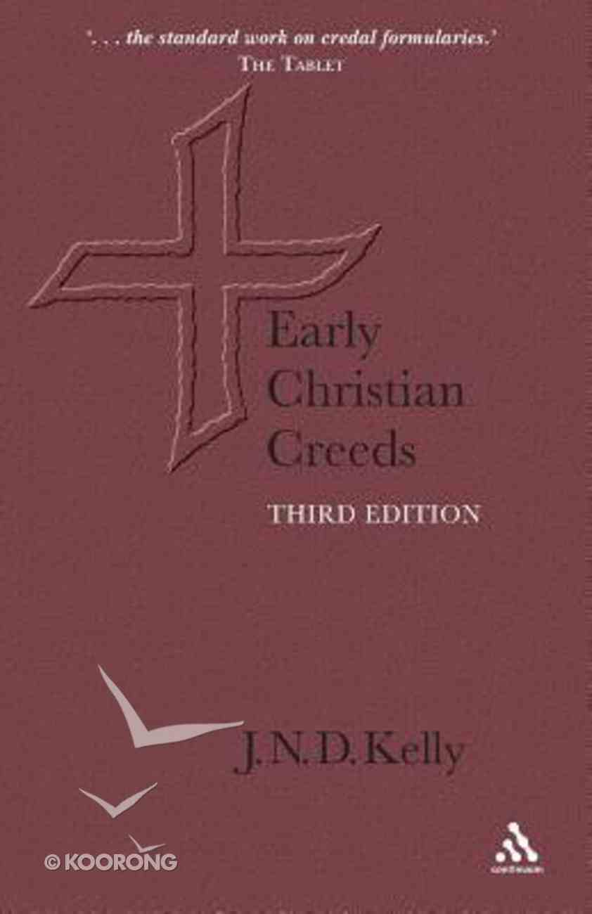 Early Christian Creeds Paperback