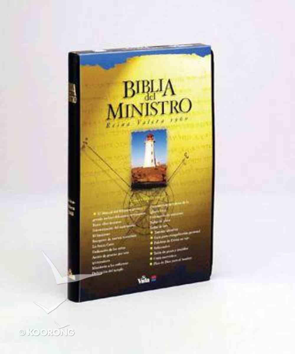 Rvr1960 Biblia Del Ministro Black (Red Letter Edition) (Minister's Bible) Imitation Leather