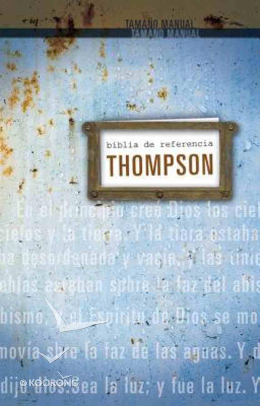 Rvr1960 Biblia De Referencia Thompson Personal (Red Letter Edition) (Tompson Chain Reference) Hardback