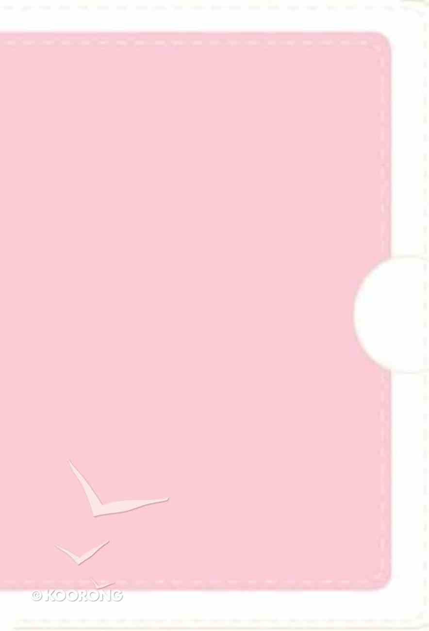 Nvi Santa Biblia Para Quinceaneras Pink/White (Red Letter Edition) (Sweet Fifteen Bible) Imitation Leather