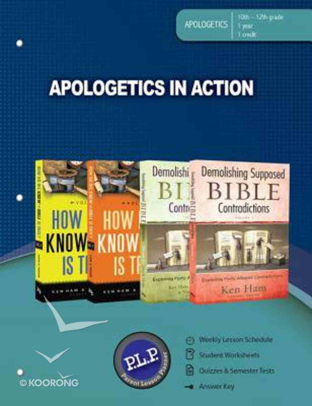 Apologetics in Action (Parent Lesson Planner) Paperback