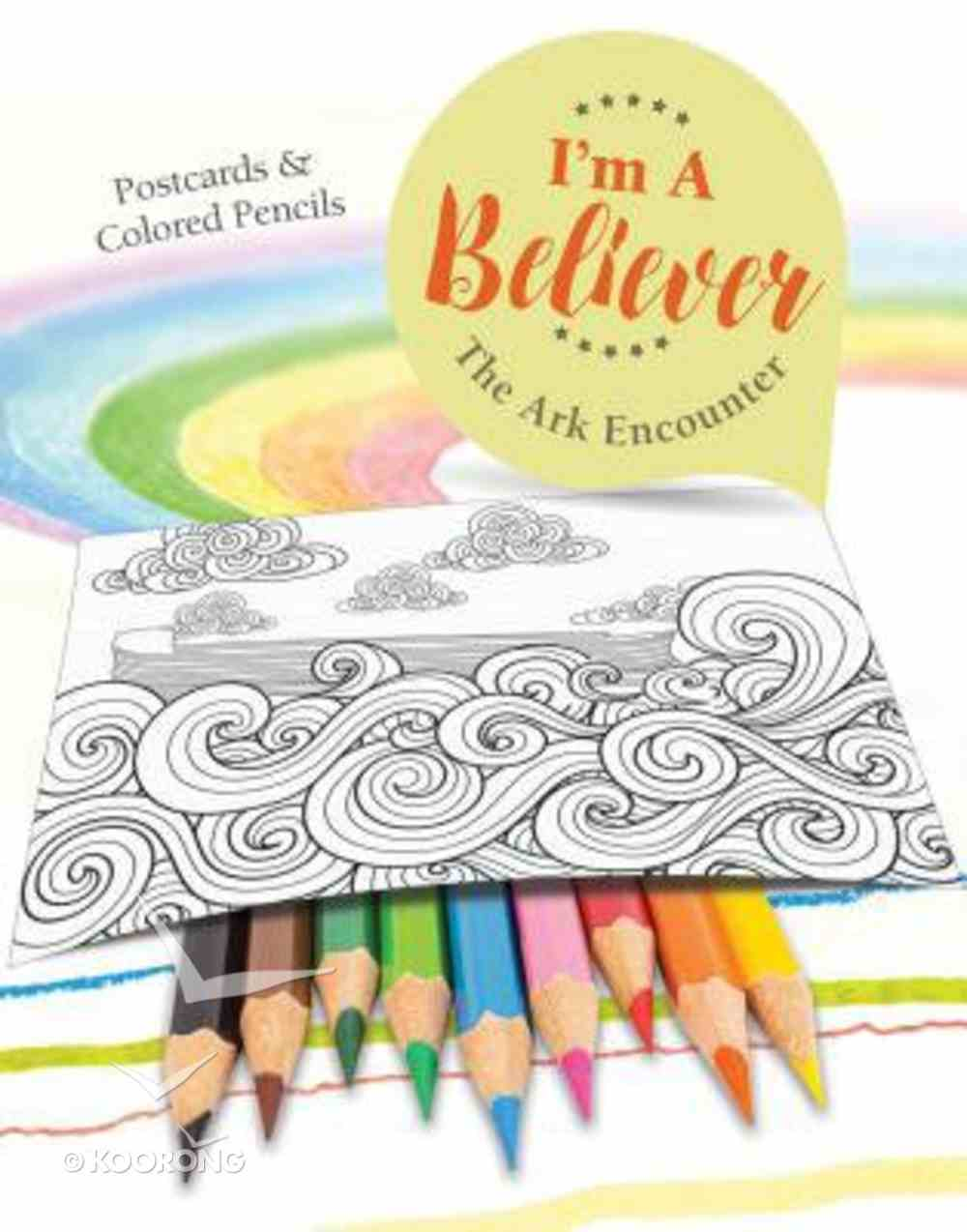 I'm a Believer: The Ark Encounter (Postcards & Colored Pencils) Cards