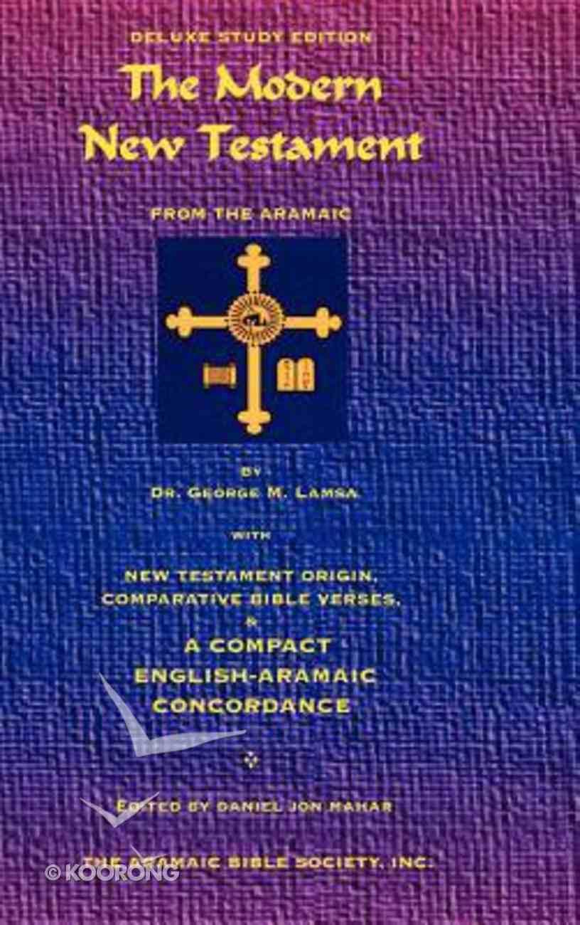 Modern New Testament From Aramaic Hardback