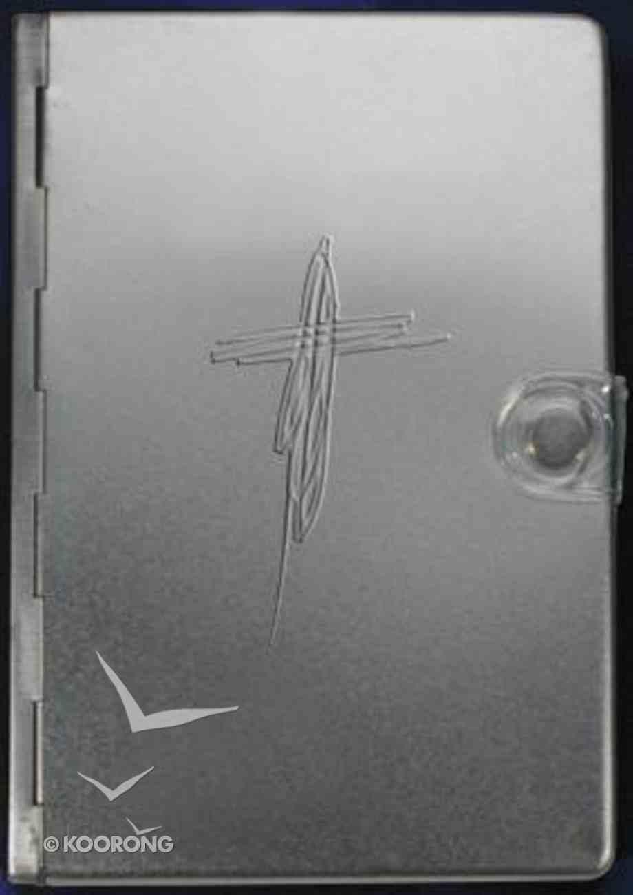 Ntv Biblia Metal Plata (Black Letter Edition) (Metal Bible Silver) Metal