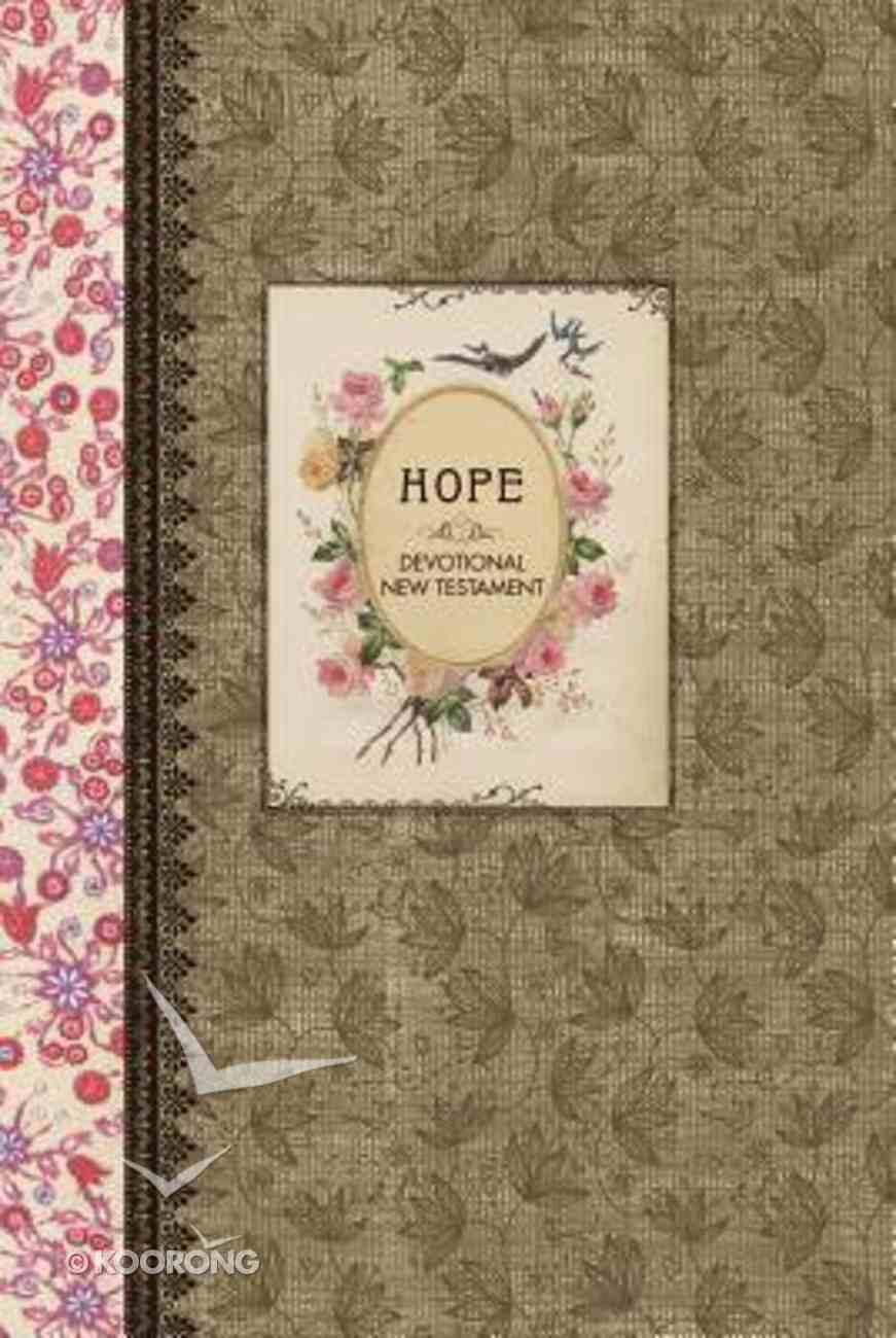 NLT Vintage Gift Collection: Hope Devotional New Testament (Black Letter Edition) Hardback