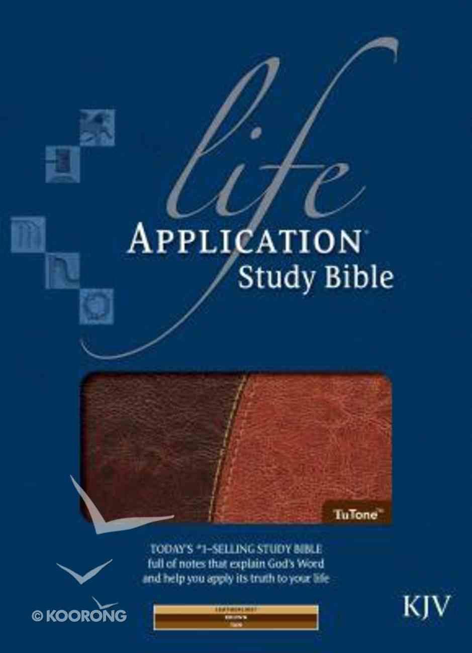KJV Life Application Study Bible, Brown/Tan Imitation Leather