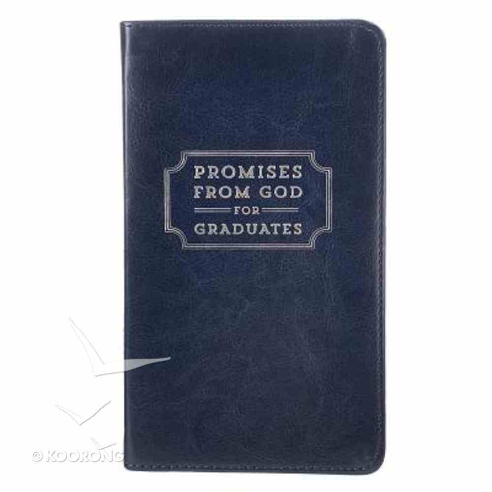 Promises From God For Graduates (Navy) Imitation Leather