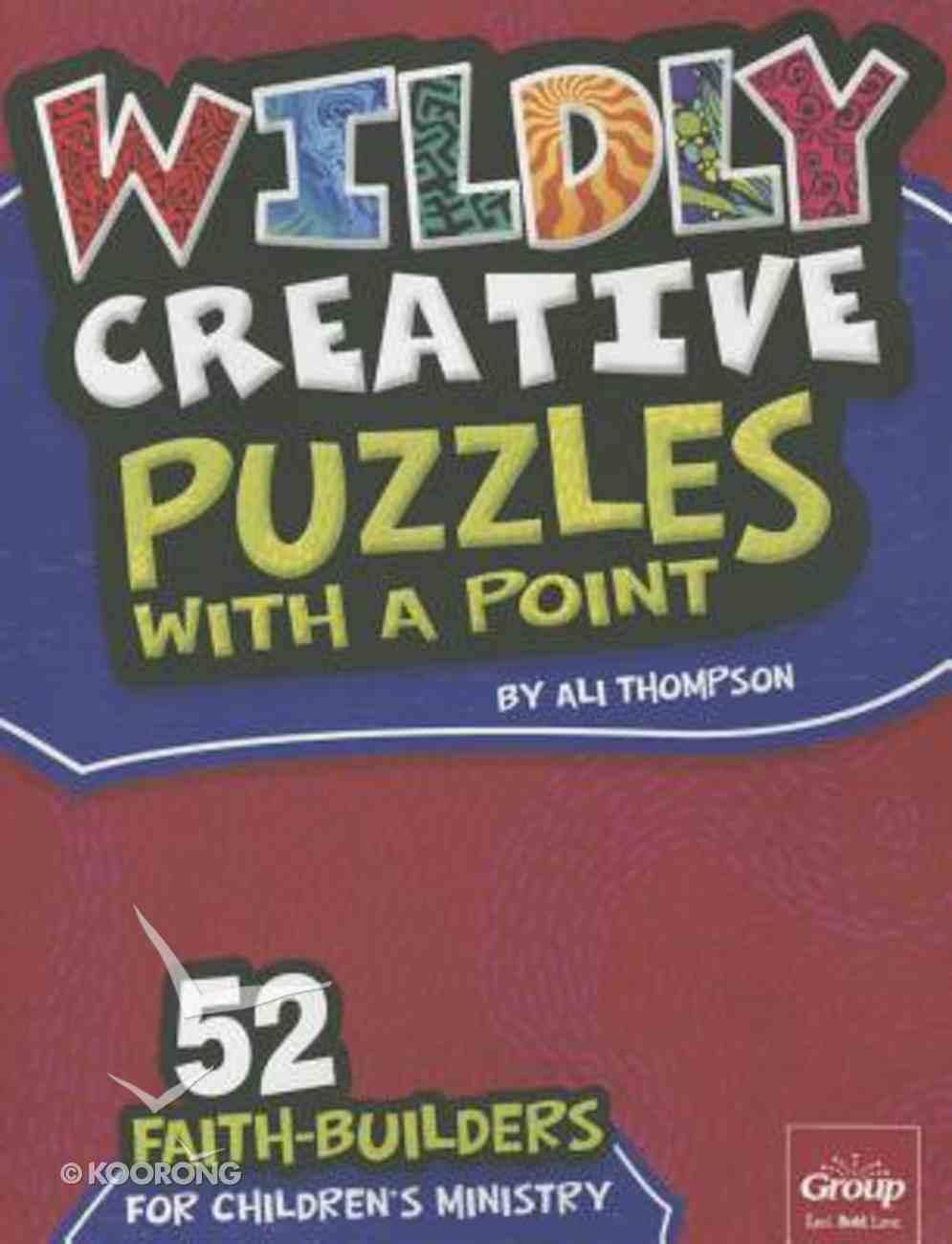 Wildly Creative Puzzles With a Point Paperback