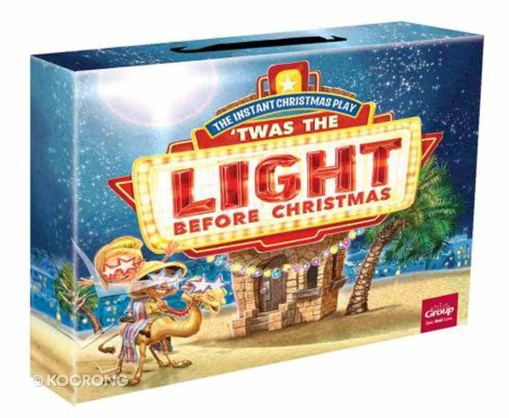 'Twas the Light Before Christmas Kit: The Fun, Instant Christmas Play! Pack