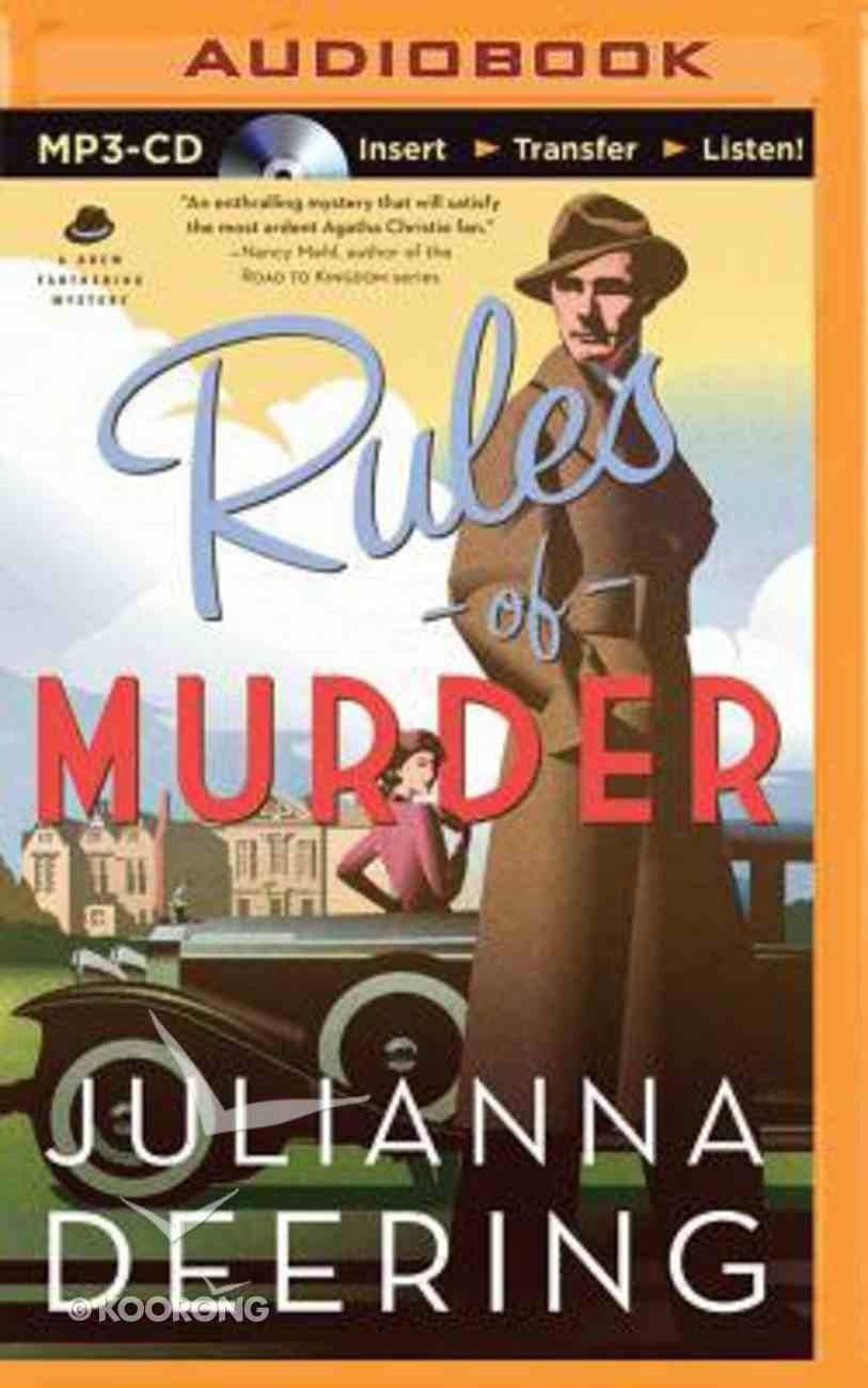 Rules of Murder (Unabridged, MP3) (#01 in Drew Farthering Mystery Audio Series) CD