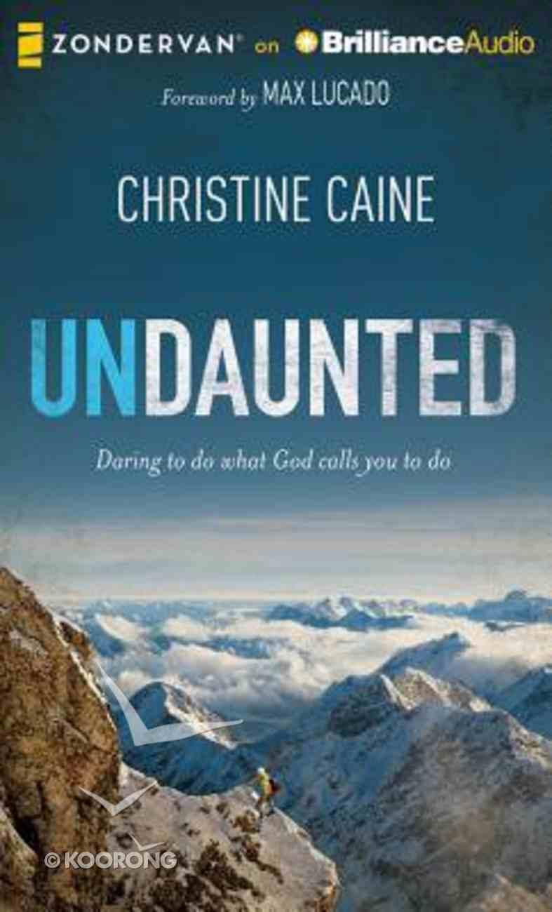Undaunted (Unabridged, 7 Cds) CD