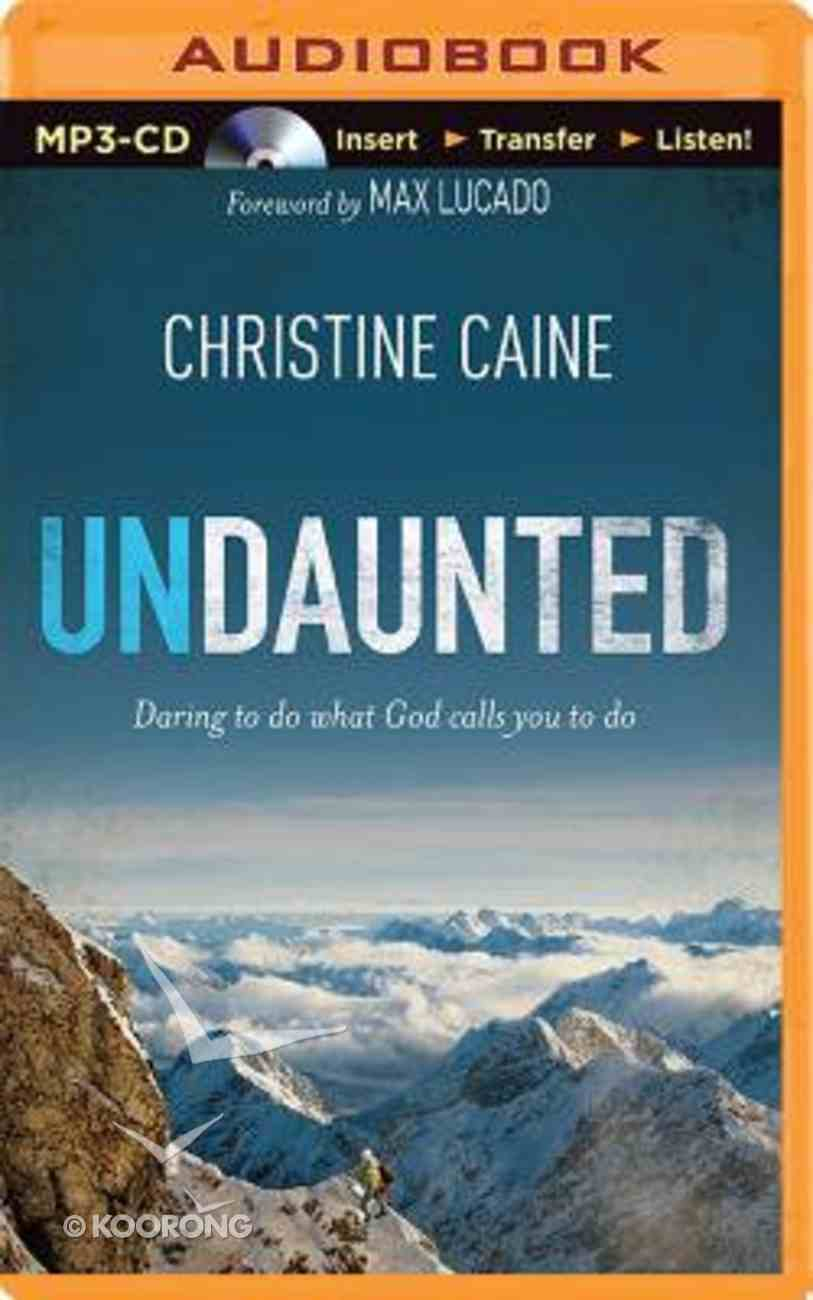 Undaunted (Unabridged, Mp3) CD