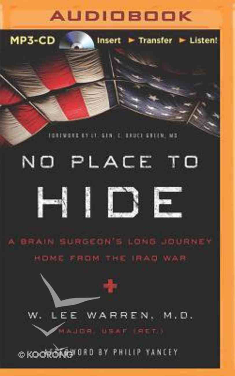 No Place to Hide (Unabridged Mp3) CD